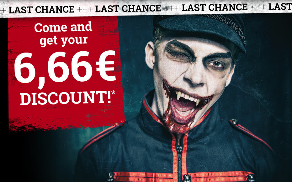 Come and get your 6,66€ discount*
