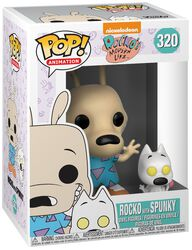 90's Nickelodeon Rocko with Spunky (Chase Edition Possible) Vinyl Figure 320