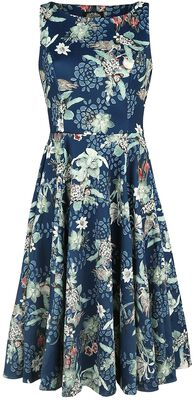 Woodland Bird Print Dress