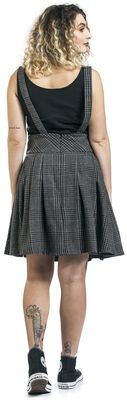 Grey Days High Waisted Skirt