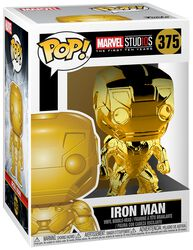 Marvel Studios 10 - Iron Man (Chrome) Vinyl Figure 375