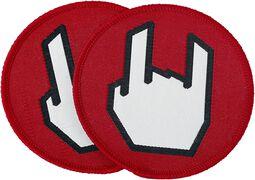EMP Rockhand Patch Set of 2