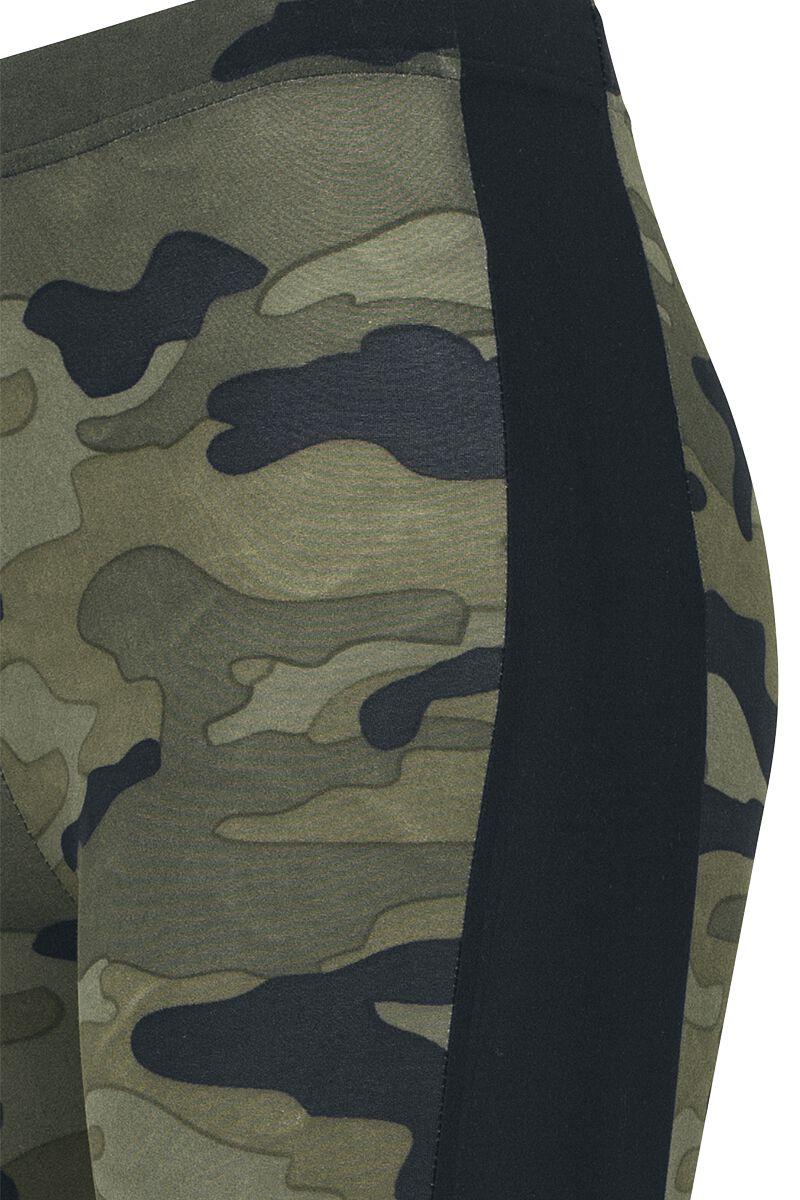 f4f12e2b42d12 Ladies Camo Stripe Leggings | Urban Classics Leggings | EMP