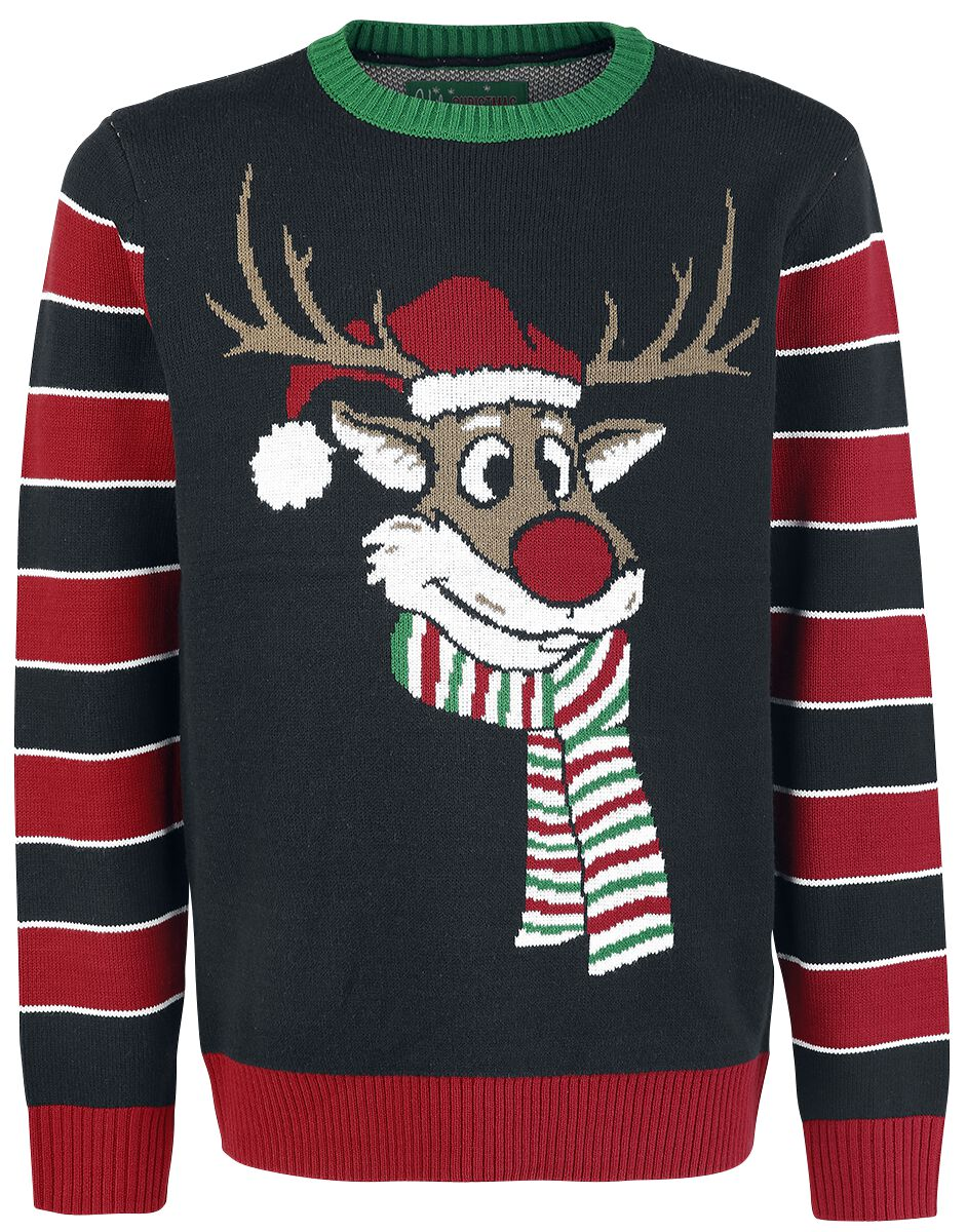 Pooping Rudolph Ugly Christmas Sweater Christmas Jumper Emp