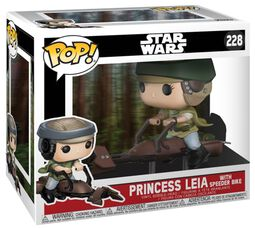 Princess Leia on a Speeder Vinyl Figure 228 (Chase Edition Possible)