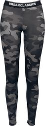 Ladies Camo Logo Leggings
