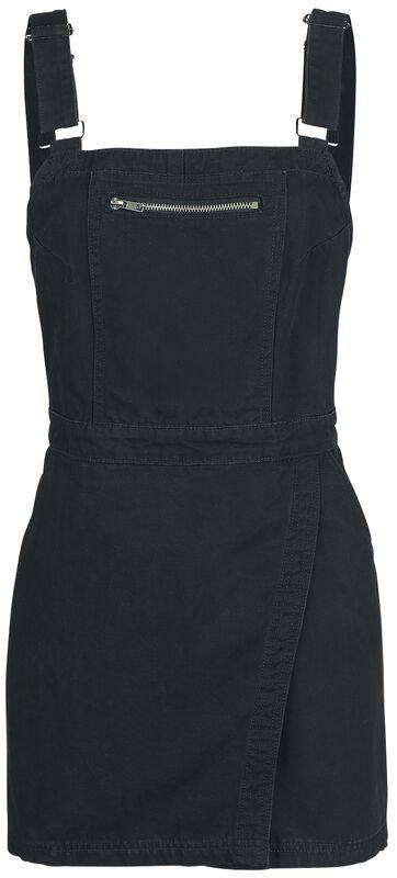 Dungaree Wrap Dress