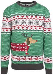 Sausage Dog Christmas Sweater