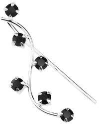 Black Line Right earpin