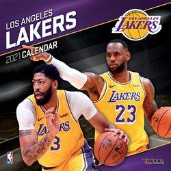 Los Angeles Lakers - Calendar 2021