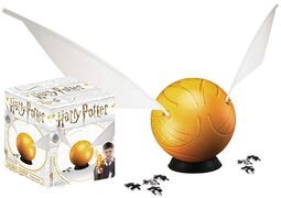 Golden Snitch (3D Puzzle 84 Pieces)