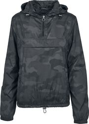 Ladies Camo Windrunner