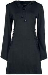 Black Dress with Hood