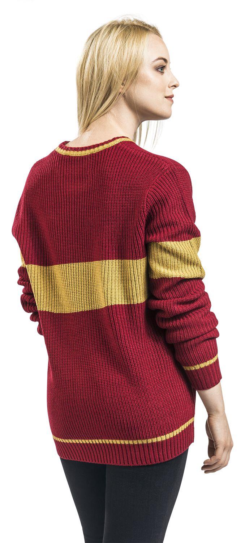 Gryffindor - Quidditch   Harry Potter Knit jumper   EMP