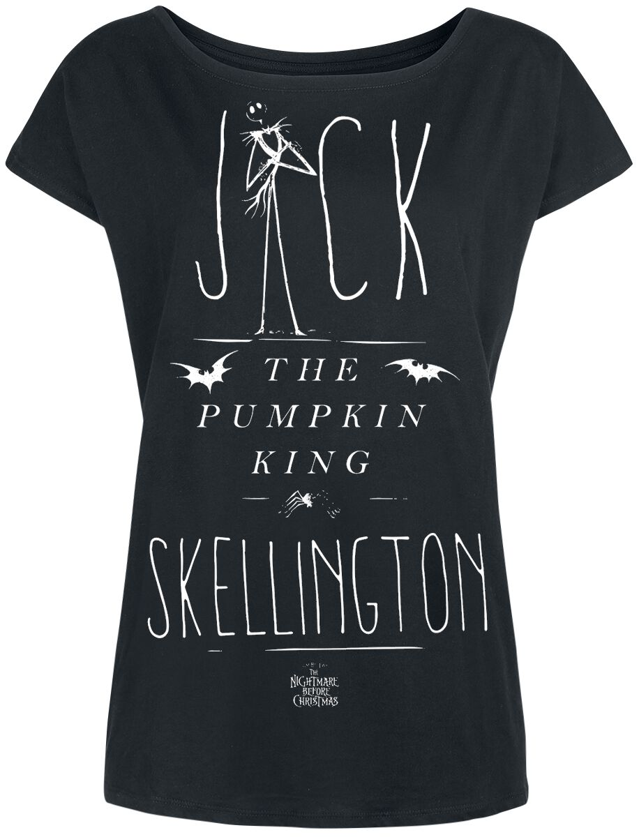 Jack The Pumpkin King | The Nightmare Before Christmas T-Shirt | EMP