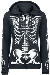 Skeleton Sweatjacket