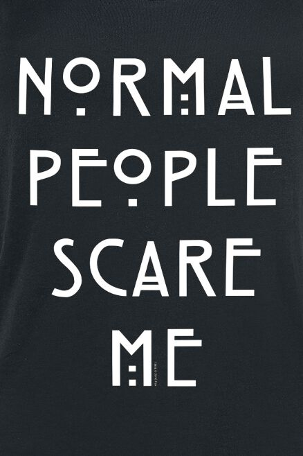 cfeb1a72 Normal People Scare Me   American Horror Story Top   EMP