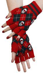 Tartan Fingerless Gloves