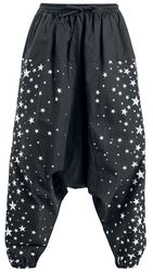 Harem trousers with print