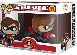 2 - Elastigirl on Elasticycle Vinyl Figure 45