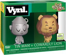 The Wizard Of Oz ECCC 2019 -  Tin Man + Cowardly Lion (VYNL) Vinyl Figure
