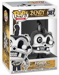 Bendy And The Ink Machine Fisher Vinyl Figure 387