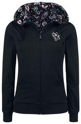Unicorn Hooded Reverse Zip Jacket