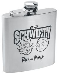 Get Schwifty - Hip Flask