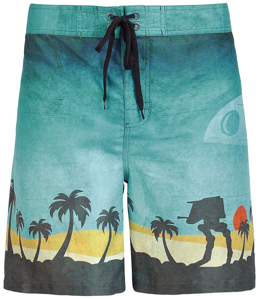 a502b3b5e1 Scarif Surf | Star Wars Swim Shorts | EMP