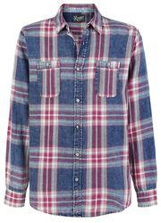 Checkered Shirt Indigo Plaid