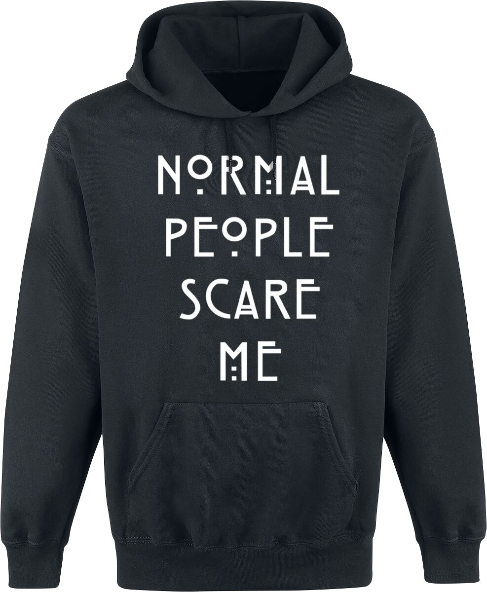835fcb4a Normal People Scare Me   American Horror Story Hooded sweater   EMP