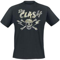 Black Grunge Skull