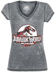 Jurassic World - Logo - Camouflage