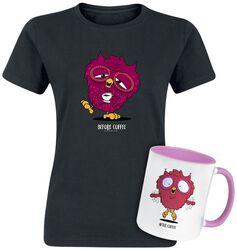T-shirt + Mug Before & After Coffee