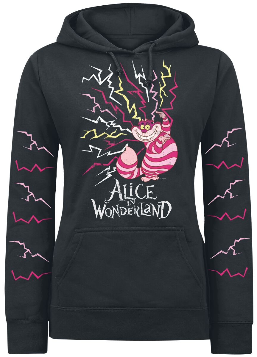 Cheshire Cat Lightning Alice In Wonderland Hooded Sweater Emp