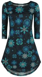 Flower Rounds Winter Dress