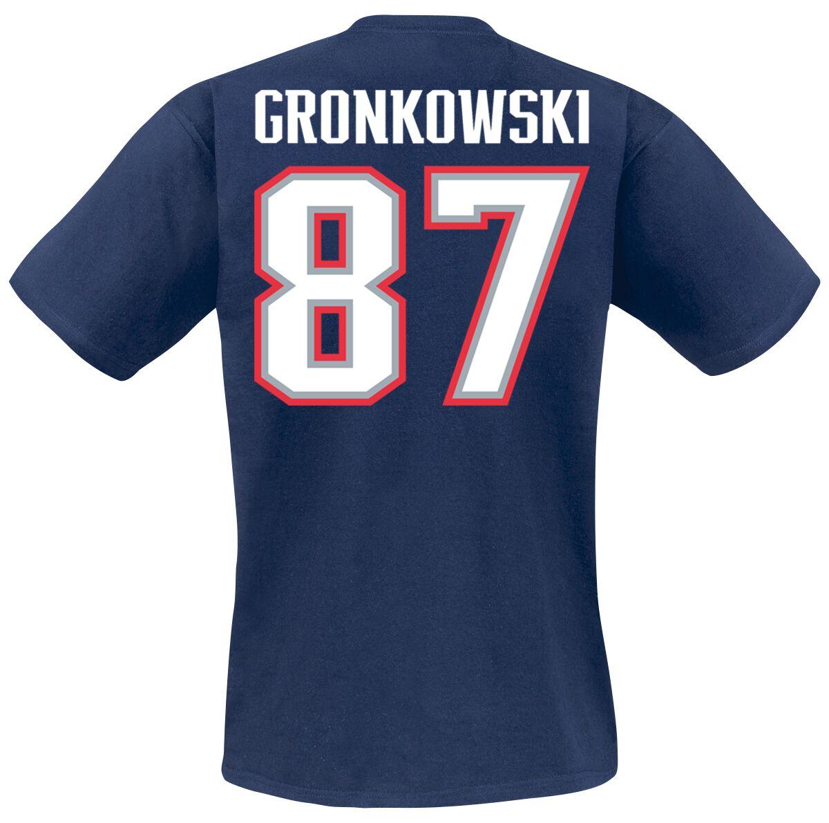 new concept 863e5 1c408 New England Patriots Gronkowski #87