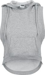 Ladies Hooded Terry Tank