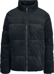 Boxy Corduroy Puffer Jacket