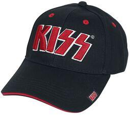 Red on White Logo - Baseball Cap