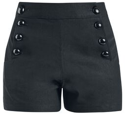 Clare Button Shorts