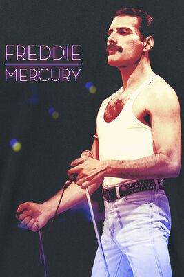 Freddie Mercury - Mic Photo