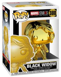 Marvel Studios 10 - Black Widow (Chrome) Vinyl Figure 380