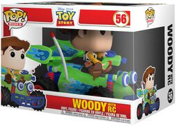Woody with RC POP! Rides Vinyl Figure 56