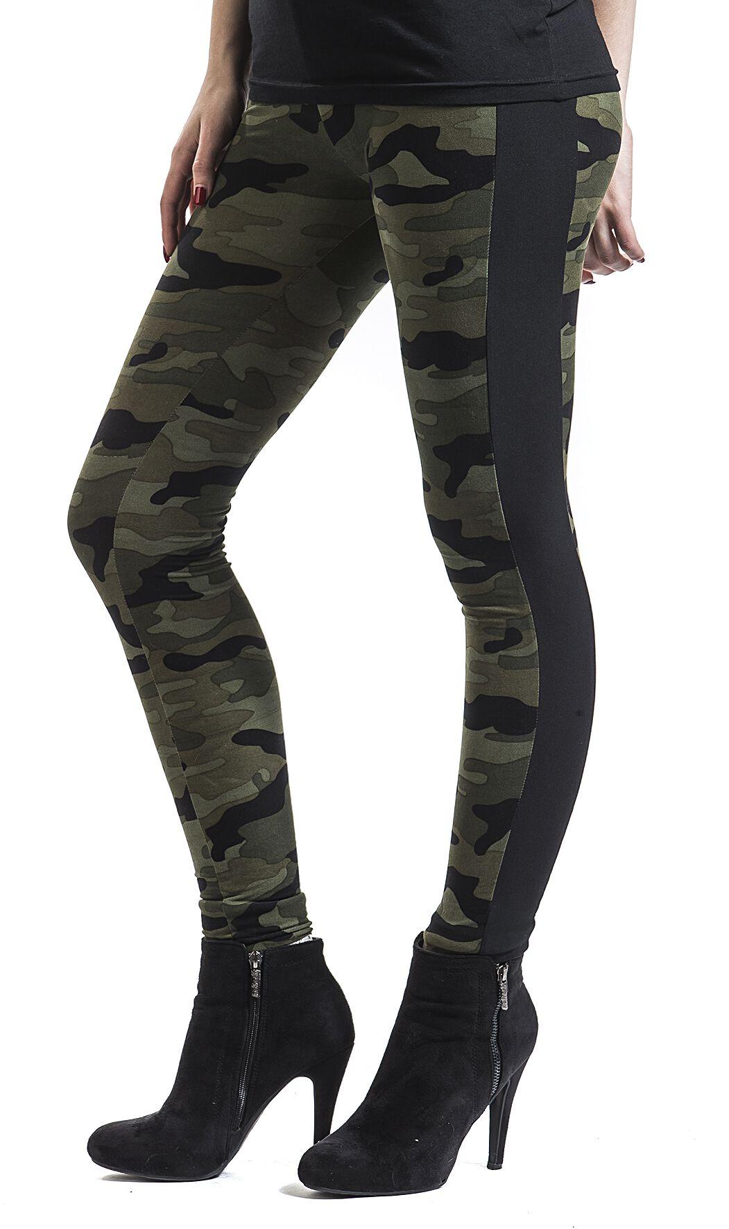 52c9c0836fc64 Urban Classics. Ladies Camo Stripe Leggings. Leggings. 2 Reviews